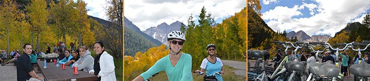 Bike to Maroon Bells